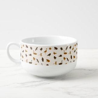 Animal pattern 2 soup mug