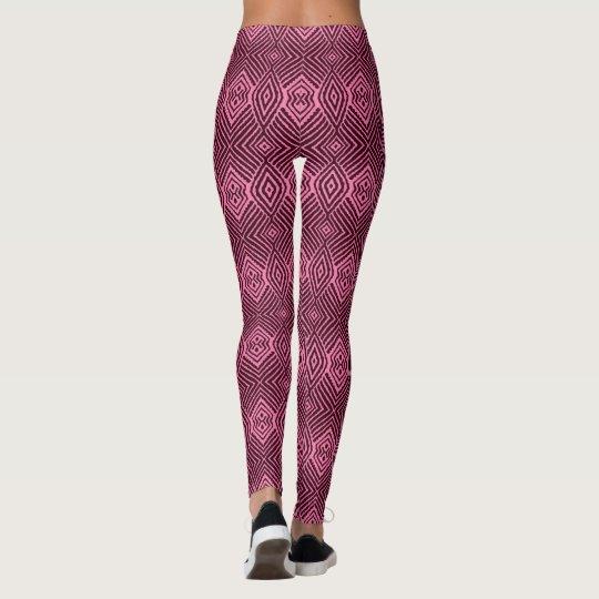 Animal Pattern#48k Designer Purple Tights Legging