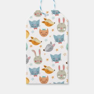 Animal Pattern Gift Tag