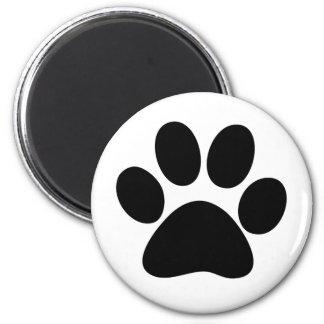 Animal Paw 6 Cm Round Magnet