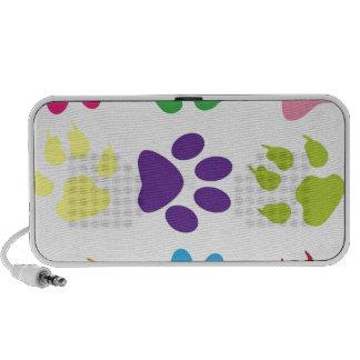 animal paw design travelling speaker