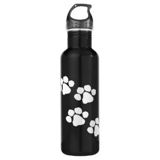 Animal Paw Prints 710 Ml Water Bottle