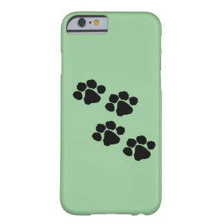 Animal Paw Prints Barely There iPhone 6 Case