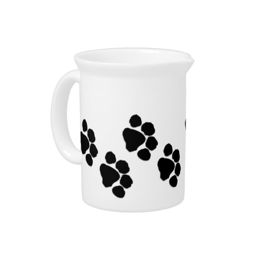 Animal Paw Prints Beverage Pitchers