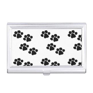 Animal Paw Prints Business Card Holder
