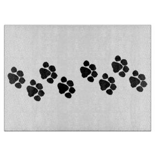 Animal Paw Prints Cutting Boards