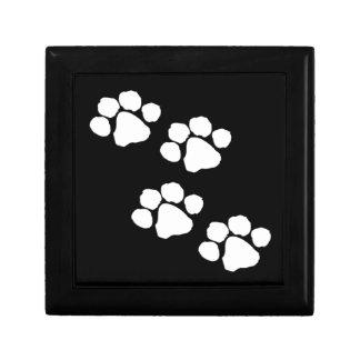Animal Paw Prints Gift Box