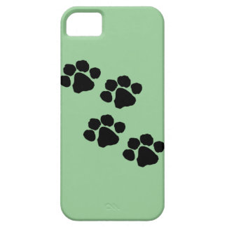 Animal Paw Prints iPhone 5 Cover
