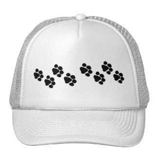 Animal Paw Prints Mesh Hats
