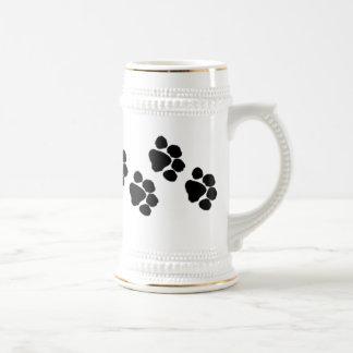 Animal Paw Prints Coffee Mug