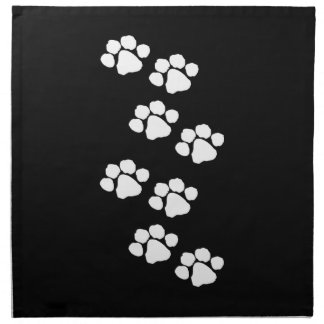 Animal Paw Prints Napkin