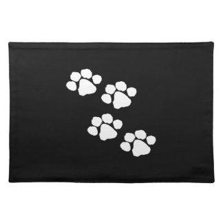 Animal Paw Prints Placemat