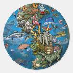 Animal Planet Classic Round Sticker