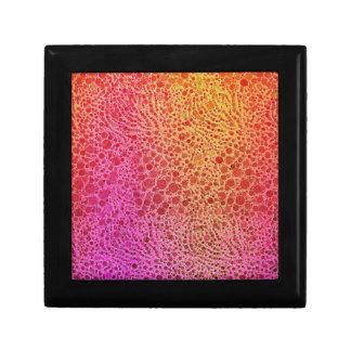 Animal Print Abstract Gift Box