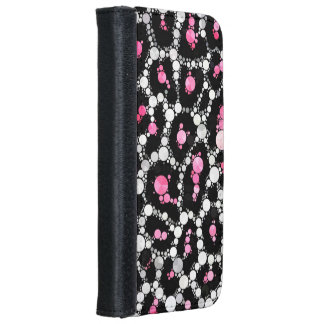 Animal Print Abstract iPhone6 Wallet Cases