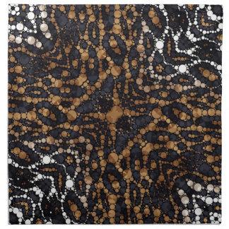 Animal Print Abstract Printed Napkin