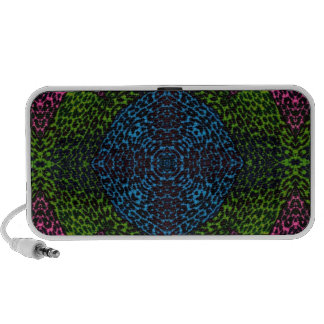 Animal Print Abstract Mp3 Speakers