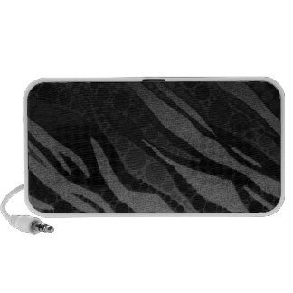 Animal Print Abstract Travel Speakers