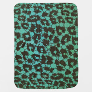 Animal Print Abstract Swaddle Blankets