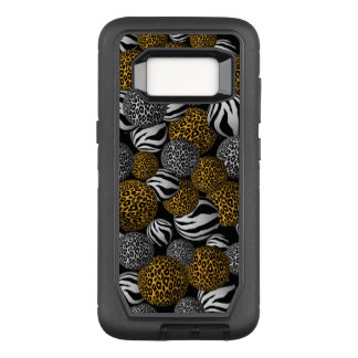Animal Print Balls OtterBox Defender Samsung Galaxy S8 Case