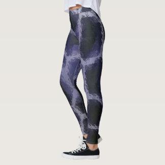 Animal Print Blue Leggings