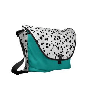 Animal Print Dalmatian Pattern Messenger Bags