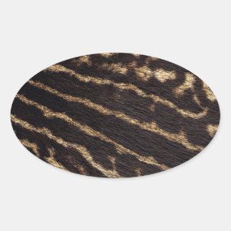 Animal Print fur Sticker