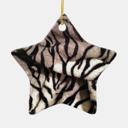 Animal Print - Furry Stripes Ornament