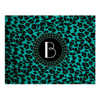 Animal Print Leopard Pattern Postcards