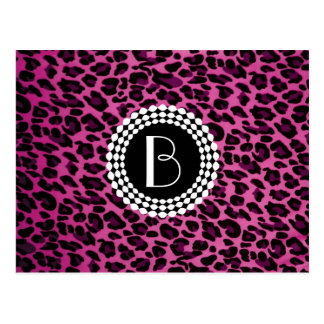 Animal Print Leopard Pattern Post Cards