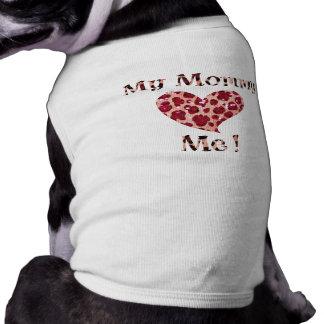 Animal Print Mommy Heart Me Shirt