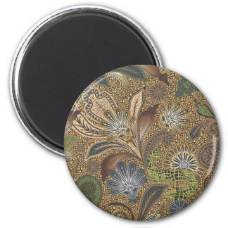 Animal Print Paisley Pattern Refrigerator Magnets