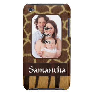 Animal print photo background barely there iPod cover