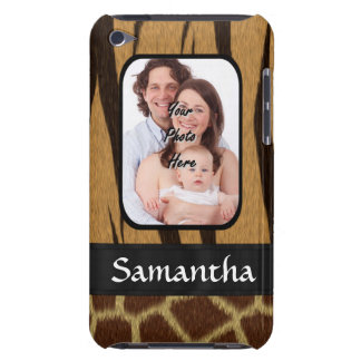 Animal print photo background iPod touch Case-Mate case