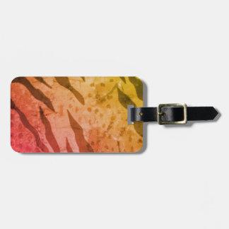 Animal Print Safari Luggage Tag