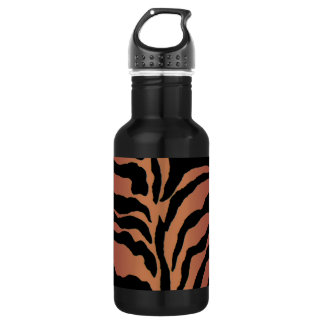 Animal Print Tiger Striped Home Decor 532 Ml Water Bottle