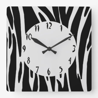 Animal Print Wall Clock