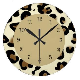 Animal Print Wall Clocks
