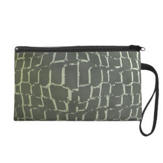 Animal Print Wristlet Bag