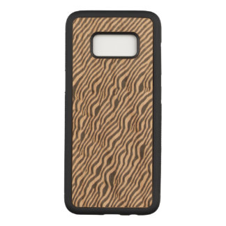 Animal Print - Zebra - Galaxy S8 Wood Case