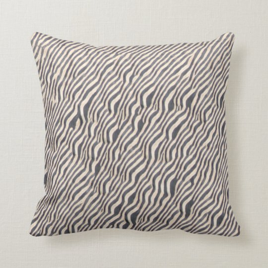 Animal Print - Zebra - Throw Pillow