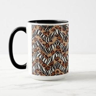 Animal Print Zig Zags Mug