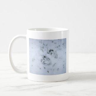 Animal Prints in the Snow Mug