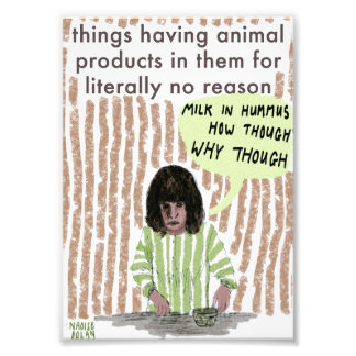 Animal Products Photographic Print
