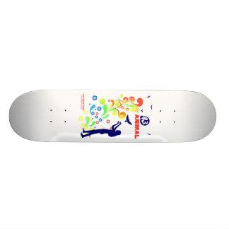 Animal R3 Woman and Birds 18.1 Cm Old School Skateboard Deck