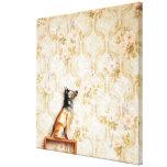 Animal representation,novelty item,shelf,knick gallery wrapped canvas