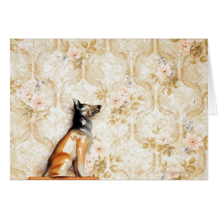 Animal representation,novelty item,shelf,knick greeting card