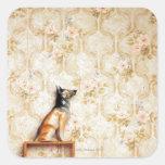 Animal representation,novelty item,shelf,knick square sticker