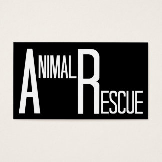 Animal Rescue Black and White
