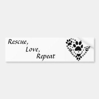 Animal Rescue Bumper Sticker